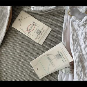Oysho Swim - Oysho white bandeau swimsuit NWT